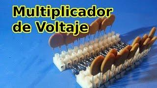 Cascada de Villard ( Multiplicador de Voltaje o Tensión)