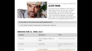1LIVE spielt Lars Leonhard - Dancing In The Noonday Sun - Fiehe/Plan B mit Klaus Fiehe