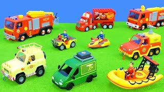 Fireman Sam: Fire Engine Toys Ride on the Road | Play & Fun Toy Vehicles for Kids