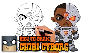 How to Draw Cyborg | Justice League