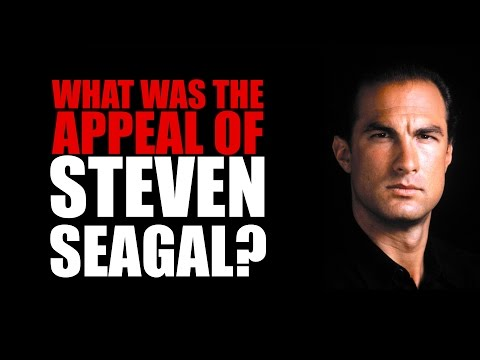 What Was The Appeal Of Steven Seagal?
