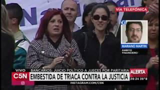 C5N - El Diario: La CGT sumó el apoyo del PJ a la movilización del 7 de mayo
