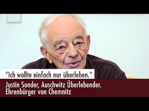 """""""Ich wollte einfach nur überleben."""" - Justin Sonder, Auschwitz-Überlebender, im Gespräch"""