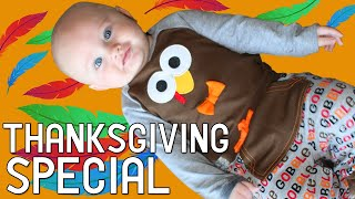 Baby Owen's First Thanksgiving! - Family Fun Pack Thanksgiving Special + Crazy Black Friday Shopping