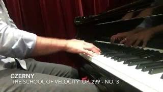 Czerny: 'The School of Velocity' Op. 299 No. 3