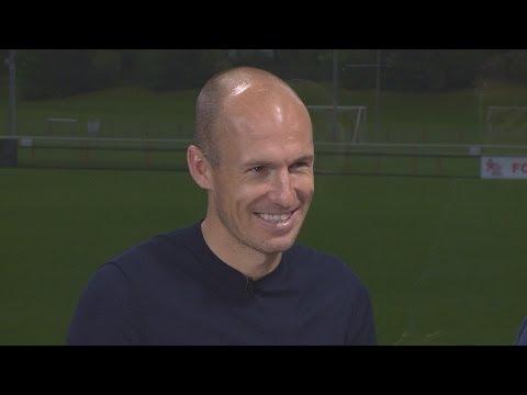 Arjen Robben blickt voraus auf Real