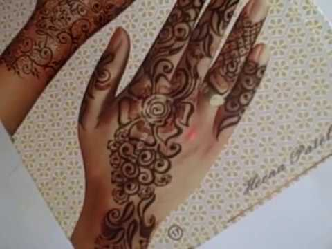 Simple Henna Design from A to Z  --FREE Online Henna Course-- by freehandmehndi