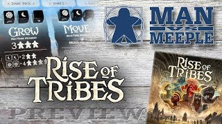 Rise of Tribes (Breaking Games) Preview by Man Vs Meeple