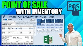 How To Make A Point Of Sale POS Application With  Nventory  N Excel Masterclass \u0026 Free Download