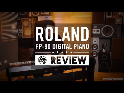 Roland FP-90 Digital Piano Review | Better Music