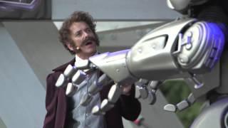 Werner von Siemens trifft Titan den Roboter aus der Zukunft