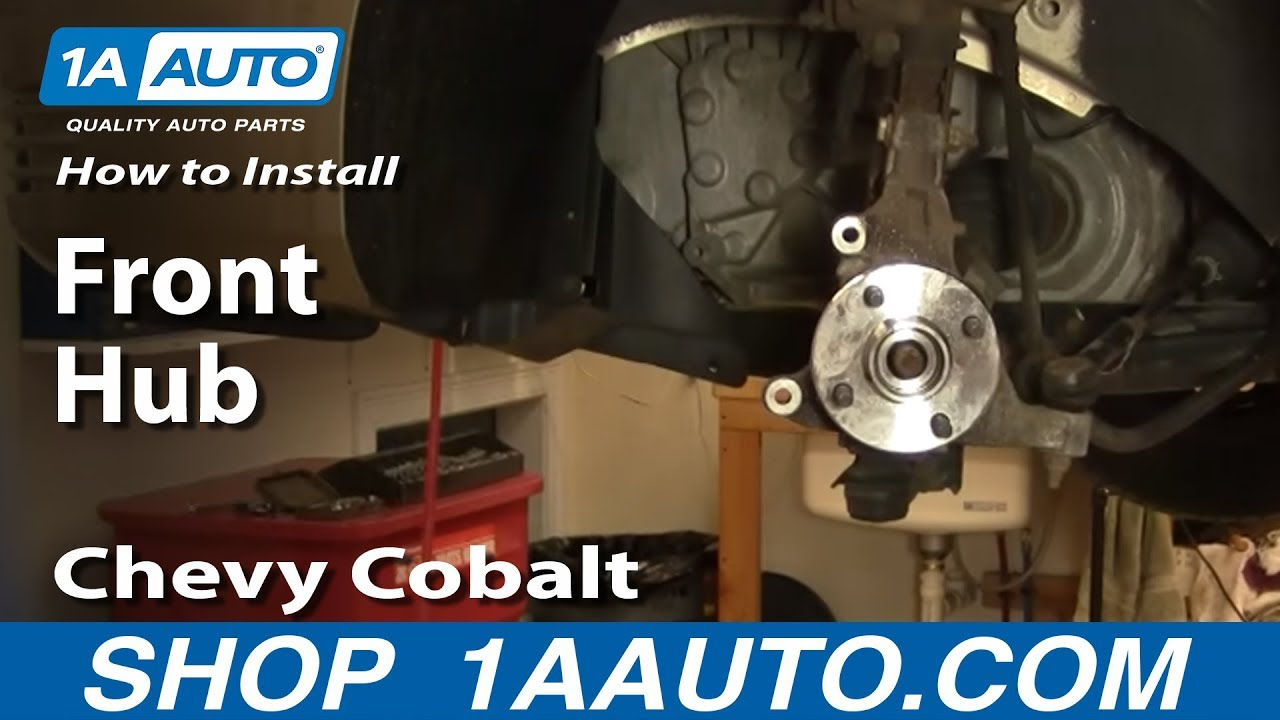 How to Replace Wheel Bearing & Hub 05-09 Chevy Cobalt ...