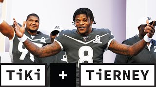 Lamar Jackson named #1 iฑ NFL TOP 100! | Tiki and Tierney