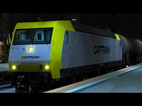 BR 145 Captrain   Benzin nach Köln West   Moseltal   Wittlich - Koblenz   Train Simulator 2017
