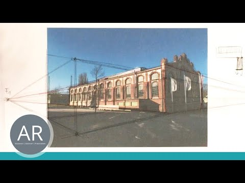 Architekturstudium – Zeichnen lernen – Grundlagen der Perspektive (1/4) – Mappenkurs Architektur