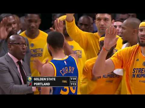 Golden State Warriors vs Portland Trail Blazers- April 22, 2017