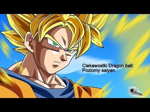 Ciekawostki Dragon Ball : Poziomy Saiyan