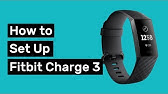 fitbit charge 3 anmachen