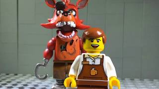 """FNAF SONG: """"SAVE ME"""" by DHeusta (LEGO Version)"""