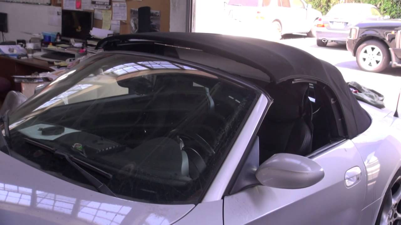 Bmw z4 convertible top replacement by cooks upholstery for 2003 bmw z4 window regulator