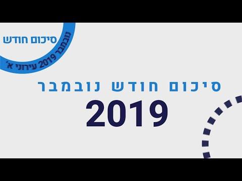סיכום חודש נובמבר 2019 ב-א׳
