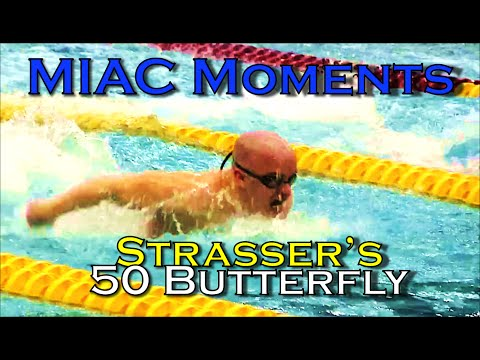 MIAC Moments: Strasser's 50 Butterfly (with A Flip Turn)