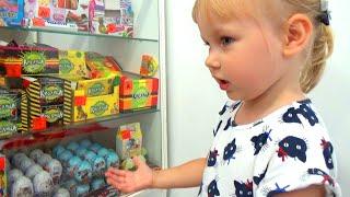 ВКУСНЯШКИ для Кати и Саши Развлечение для детей !!! entertainment for children A lot of candy