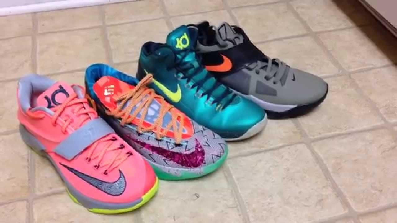 Nike KD 4, 5, 6, 7 COMPARISON & OPINION - YouTube
