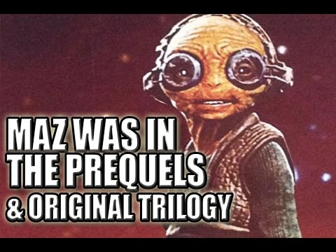 Star Wars Theory | Maz Kanata Is Hidden in Every Star Wars Movie?!