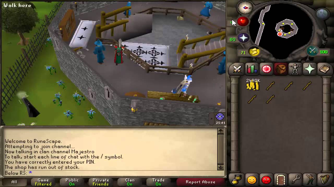800 H Old School Runescape Money Making Guide 2007 Youtube