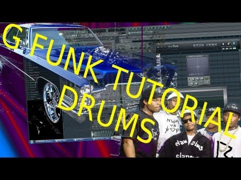 How to Wie (G FUNK / WEST COAST HIP HOP DRUMS) # 1 - Musik,