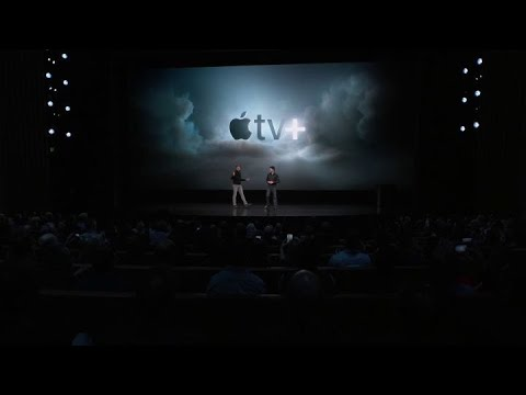 Apple Unveils New Apple TV+ Streaming Service