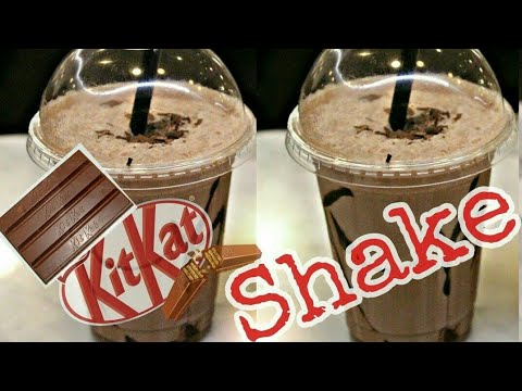 Kitkat Shake | Chocolate Shake | Milk Shake