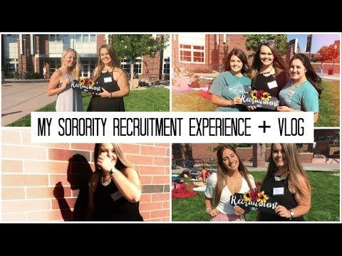 My Sorority Recruitment Experience // University of Nevada, Reno
