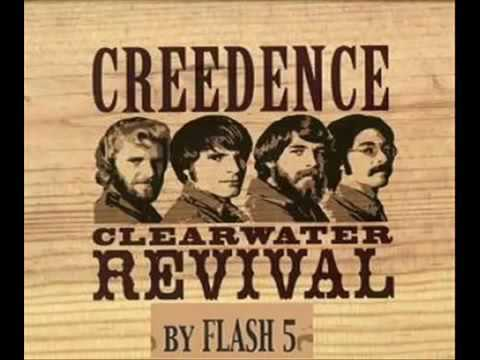 CREEDENCE CLEARWATER REVIVAL   GREATEST   HITS   THE   BEST   ALBUM  GRANDES  EXITOS   BY   FLASH 5