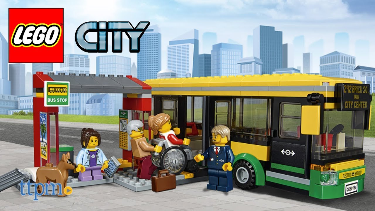 NEW LEGO City 60154 The bus only Age:5 Vehicle