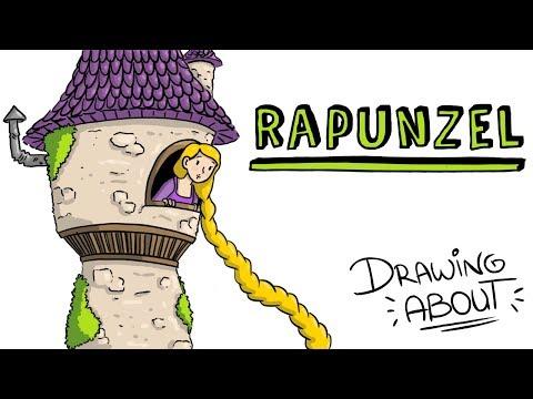 RAPUNZEL LA VERDADERA HISTORIA  | Draw My Life Cuentos Infantiles