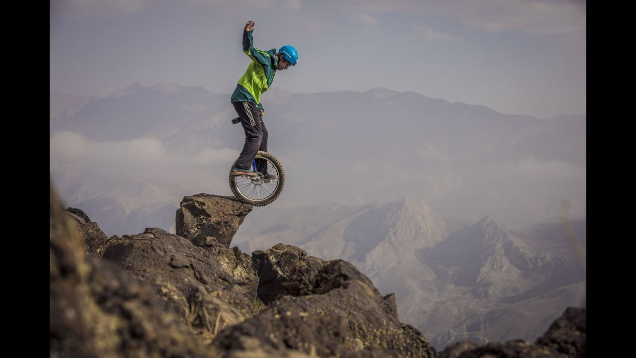 Image result for extreme downhill unicycling