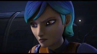 Star Wars Rebels S02E13 - Sabine Wren vs Fenn Rau