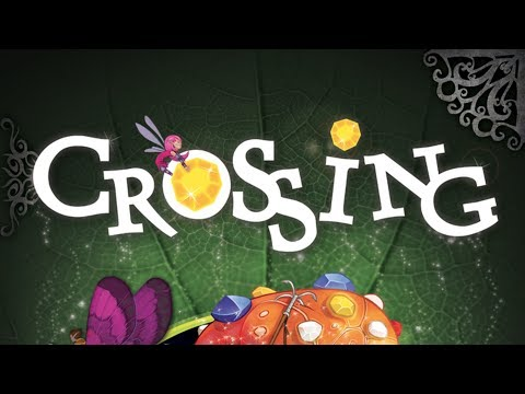 Let's Play Crossing - Full Board Game Play Through