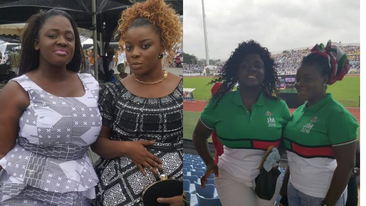 Tracey Boakye's Former NDC Colleague Actress Kani Gloria breaks Silence