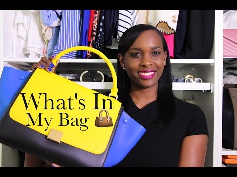 What's In My Bag  👜 Céline Trapeze