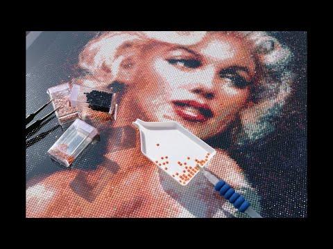 Diamond Painting 5D - mein erstes Bild von  Picmondoo + Rabattaktion