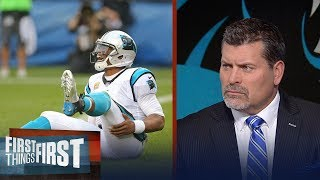 Carolina Panthers QB Cam Newton is a 'petulant child' | FIRST THINGS FIRST