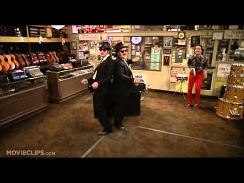 The Blues Brothers (1980) Ray Charles - Shake A Tail Feather (Movie Clip)