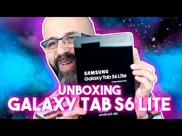 🛒 UNBOXING SAMSUNG GALAXY TAB S6 LITE Y MÁS | La red de Mario