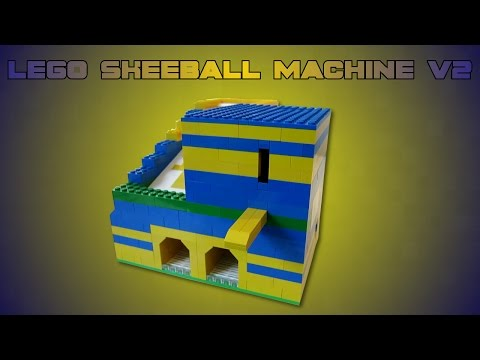Lego Skeeball Machine
