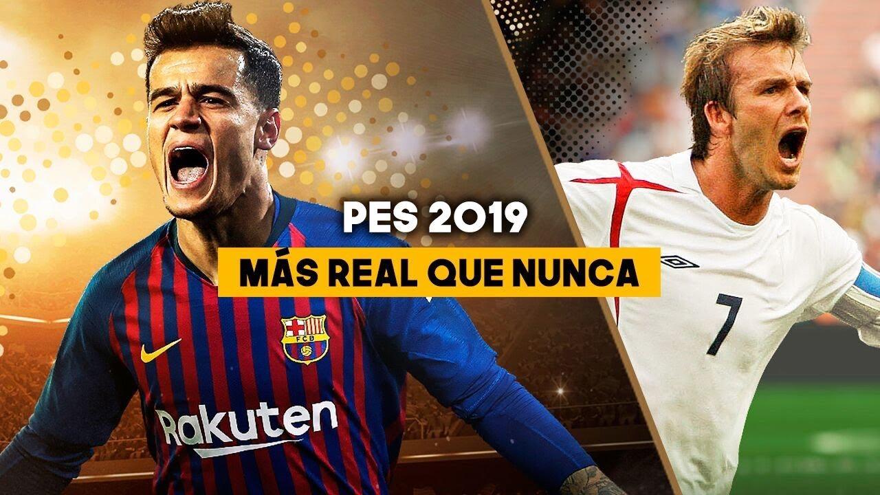 PES 2019 GAMEPLAY: MÁS REAL QUE NUNCA