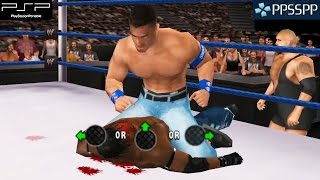 WWE SmackDown vs. Raw 2010 - PSP Gameplay 1080p (PPSSPP)