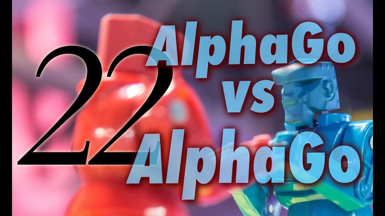 b02b669827c3 AlphaGo vs. Alphago with Michael Redmond 9p  Game 22 - YouTube